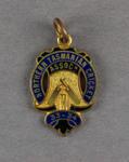 Membership badge, Northern Tasmanian Cricket Association - season 1933/34