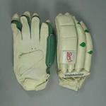 Pair of Kookaburra cricket batting gloves, signed by David Hookes