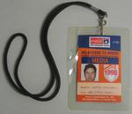 Media access pass issued to Justin Madden (ABC Radio Sport) for the 1999 AFL finals season