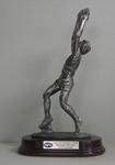 Statue presented to Carlton footballer Justin Madden in recognition of his role in the 1987 and 1995 VFL and AFL Premiership teams