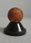 Cricket ball used by Alec Bedser in the Fifth Ashes Test, Australia v England, at the MCG in 1951.