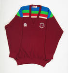 Jumper in West Indies team colours, 1992 Benson & Hedges World Cup