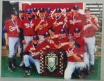 Photograph of MCC Baseball Team Division 2 Premiers Season 2000-01
