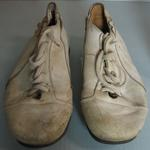 Puma cricket boots worn by Ross Edwards, 1975
