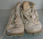 Hope Sweeney hand-made kangaroo hide ankle boots made for Dennis Lillee