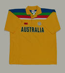 Australian team shirt, 1992 Cricket World Cup