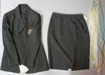 Blazer, scarf, and skirt, official Australian Netball team uniform