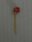 Anti-Football League lapel pin, c. 1967-1968