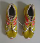 Shoes worn by triathlete Craig Alexander in the  Ironman World Championship, Hawaii, 2011