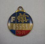 Melbourne Cricket Club Medallion, 1970/71