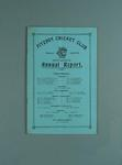 Annual report, Fitzroy Cricket Club - season 1929/30