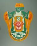 Cardboard sun visor advertising Sydney-Melbourne Ultra Marathon, 1988
