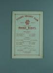 Annual report, Fitzroy Cricket Club - season 1930/31