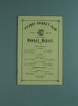 Annual report, Fitzroy Cricket Club - season 1931/32