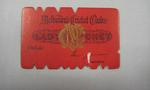 Melbourne Cricket Club Lady Membership Ticket, 1960/61