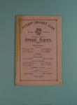 Annual report, Fitzroy Cricket Club - season 1933/34