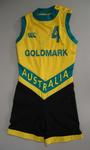 Australian women's basketball team bodysuit associated with Robyn Maher