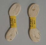 Shoelaces associated with Patricia Thomson, c.1950s-1960s