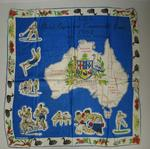 Silk scarf, VIIth British Empire and Commonwealth Games, Perth, 1962