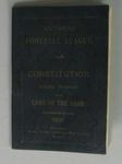 Booklet, 'Constitution. Rules, Permits, and Laws of the Game', Victorian Football League, 1902.