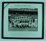 Photograph of VAFA team, 1956 Olympic Games Australian Football demonstration