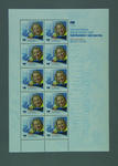 Stamp sheet, 2002 Australian Winter Olympic Team Gold Medallist - Alisa Camplin