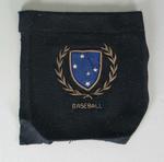 Melbourne Cricket Club Baseball Section blazer pocket worn by Colin Miller
