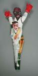 "Sculpture, ""Clean Bowled"" by Timothy James Webb"