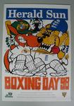 Herald Sun WEG poster issued to commemorate the Boxing Day Test match, 1998
