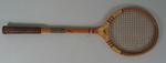 Squash racket used by Eric Vincent, 1951