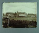 Photograph of crowd at England v Australia cricket match, Lord's - 14 Aug 1899