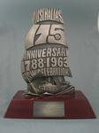 Trophy awarded to Rosemary Margan as Women's Section Grand Champion, New South Wales Water Ski Championships, 1963