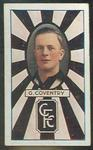 Trade card featuring Gordon Coventry, c1930s