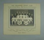 Photograph of East Brunswick Cricket Club, First Grade Premiers - 1943/44 season