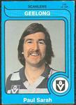 1980 Scanlens (Scanlens) Australian Football Paul Sarah Trade Card