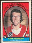 1978 Scanlens (Scanlens) Australian Football Mark Browning Trade Card