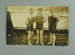 Postcard, image of English swimmers