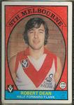 1978 Scanlens (Scanlens) Australian Football Robert Dean Trade Card