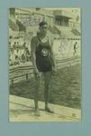 Picture of American swimmer Johnny Weissmuller