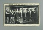 Postcard, picture of Swedish water polo and swimming team - 1913