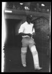Negative, depicts a batsman walking on to a cricket ground c1932