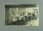 Postcard, image of Murray River sports carnival at Yarrawonga