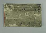 Postcard, image of water polo match - 1924 Paris Olympic Games