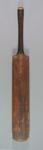 Cricket bat, used in compiling world record score of runs - Victoria v NSW, 1926