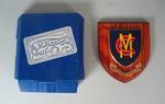 Marylebone Cricket Club plaque presented to the Melbourne Cricket Club, 2009/10