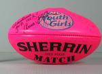Pink football, Youth Girls' National Australian Football Championship, 2010