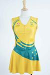 Netball dress worn by Liz Ellis at the Netball World Championships, New Zealand, 2007