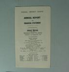 Federal Football League Annual Report and Financial Statement, Season 1959