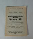 Federal District Football League Fixtures, 1958