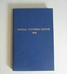 Federal Football League Record Book, 1979
